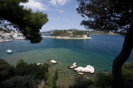 bourtzi: Bourtzi island Skiathos Town, Greece