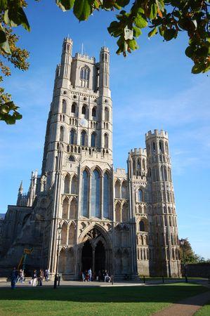 prayer tower: Cattedrale di Ely, Cambridgeshire, Inghilterra  Archivio Fotografico