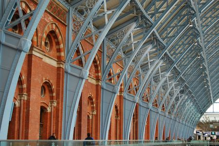 pancras: St. Pancras International Station