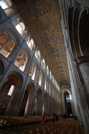 cambridgeshire: Interior of Ely Cathedral, Cambridgeshire, England