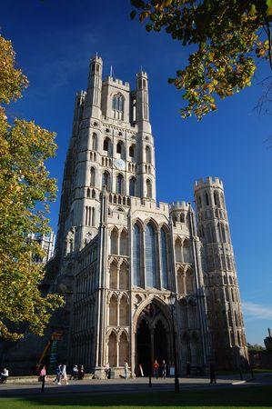 cambridgeshire: Ely Cathedral, Cambridgeshire, England Stock Photo