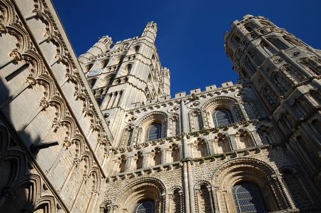 Cathedral Church of the Holy and Undivided Trinity of Ely Cambridgeshire East Anglia England UK