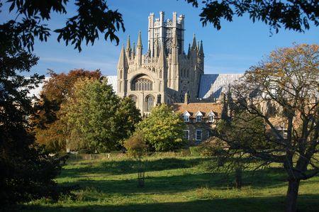cambridge: Ely Cathedral, Cambridgeshire, England Stock Photo