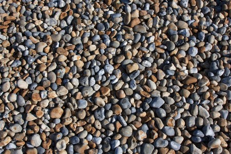 shingle beach: Shingle beach Stock Photo