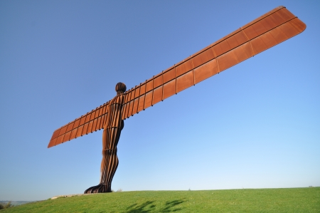 The Angel of the North, Northumberland, UK