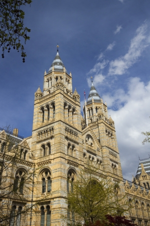 Towers of Natural History Museum, London, England
