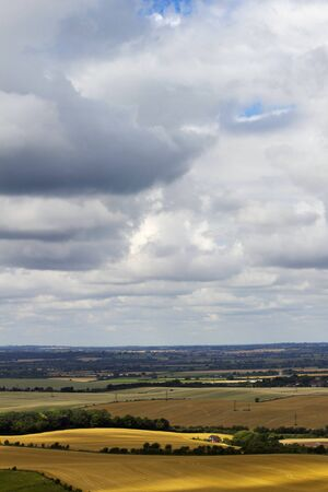 Bedfordshire countryside after storm Reklamní fotografie - 15089623