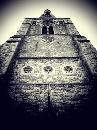 Church tower photo