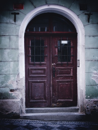 Doorway, Prague, The Czech Republic Stock Photo - 17933415