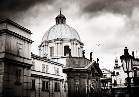 Church of St Francis, Prague Reklamní fotografie