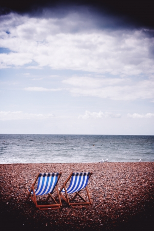 Deck chairs photo