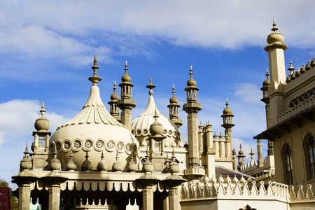 Brighton Pavillion rooftops