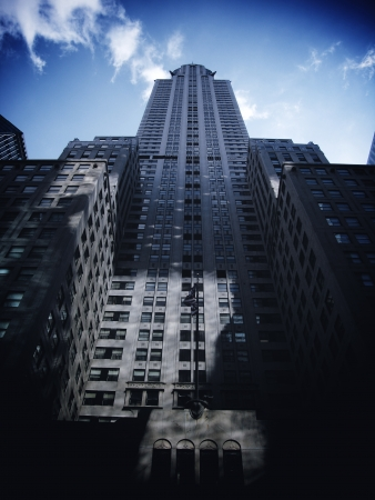 NEW YORK - MARCH 9: Chrysler building facade, pictured on on March 9, 2007 in New York, was the world�s tallest building before it was surpassed by the Empire State Building in 1931
