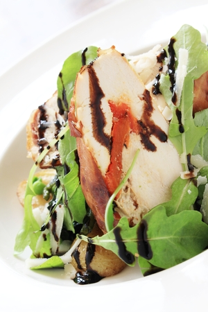 roulade: chicken roulade salad