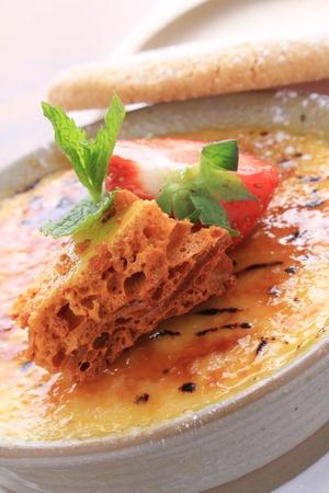cinder: creme brulee with cinder toffee dessert