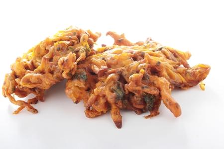 onion bhaji: traditional onion bhaji