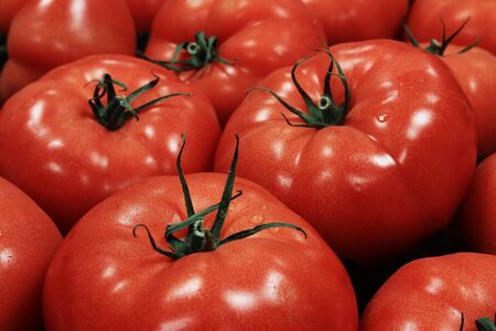 preperation: fresh red tomato
