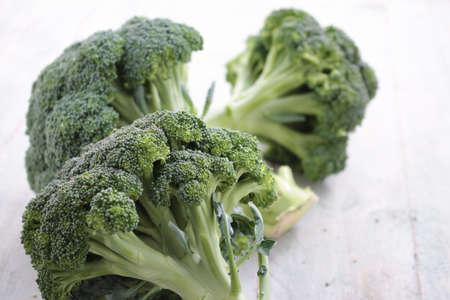 ingrediant: fresh broccoli isolated on white
