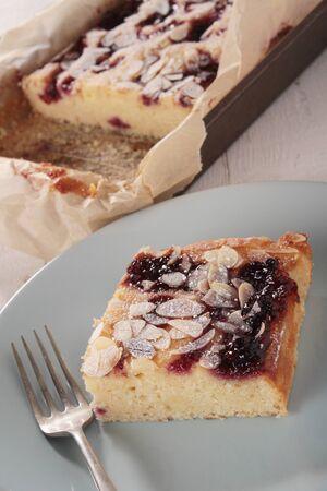fench: frangipane raspberry tart