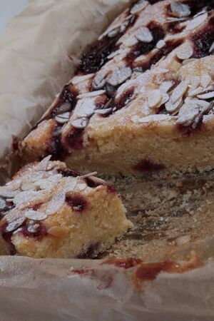 home baked: home baked bakewell pie