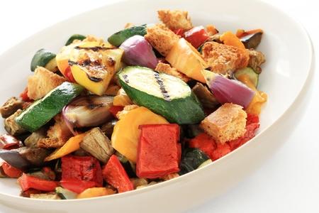 roast vegetables with balsamic vinegar