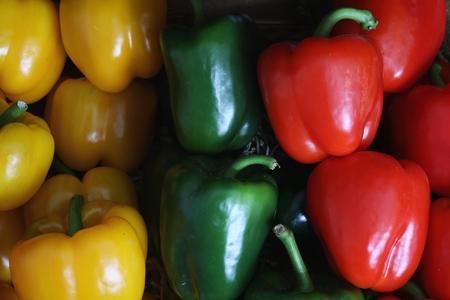 capsicum: capsicum peppers
