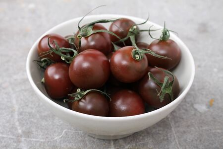 heritage: heritage black tomatoes Stock Photo