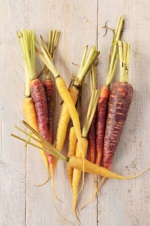 heritage: heritage chantenay carrots Stock Photo