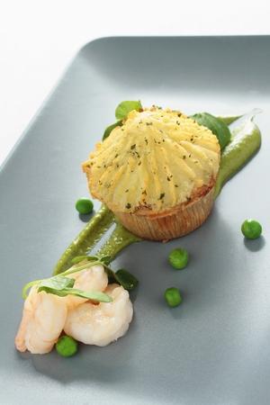 starter: fish pie plated appetizer starter
