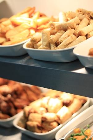 plating: preparing food