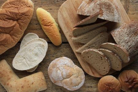 bloomer: fresh baked bread selection