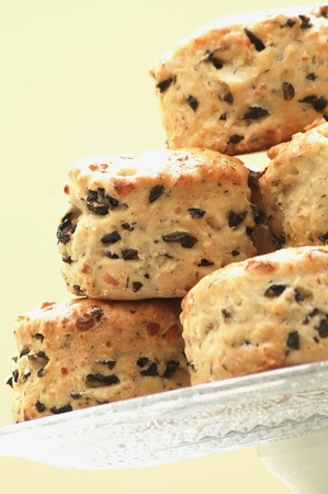 scones: Savory Olive Scones