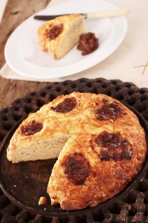 savory: savory scone bread