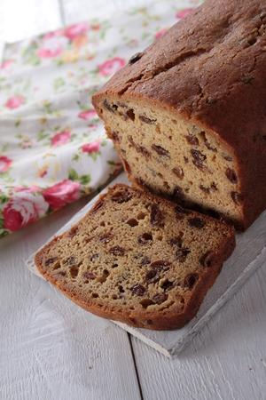 home baked: home baked fruit loaf