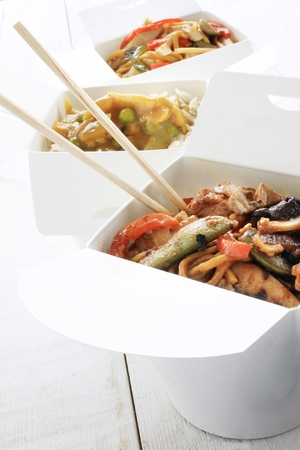 伝統的な中国語のテイクアウト