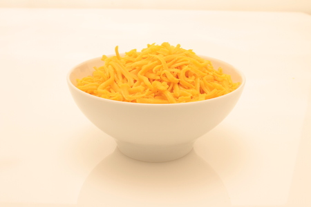 ingrediant: fresh grated cheese Stock Photo