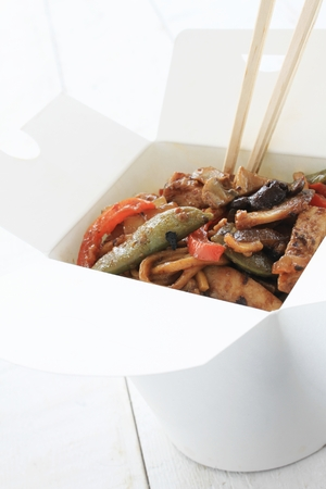 black bean: traditional chinese takeaway