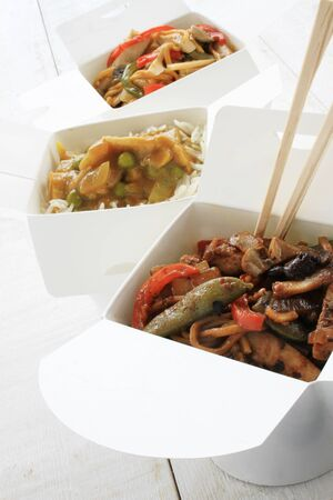 sweet food: traditional chinese takeaway