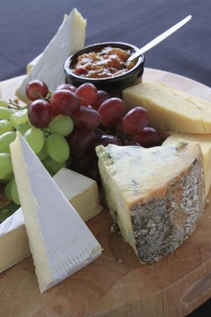 stilton: cheese board selection