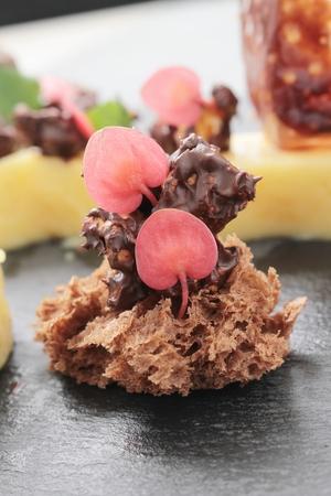 afters: panna cotta dessert