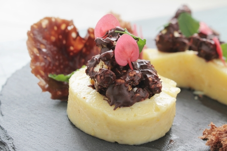 panna cotta: panna cotta dessert
