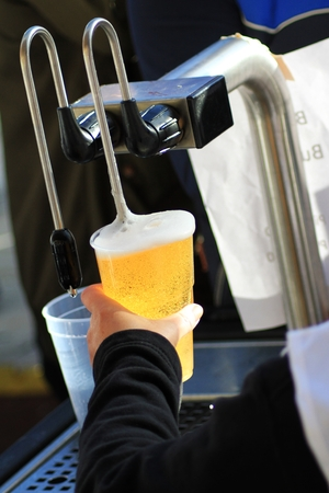 beer pump: serving beer tap pump