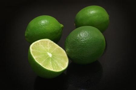 fresh sliced limes
