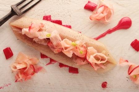 cured: cured mackerel appetizer
