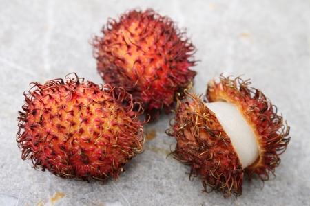 lychee: rambutan lychee fruit