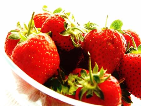 fresh strawberries: fresh strawberries