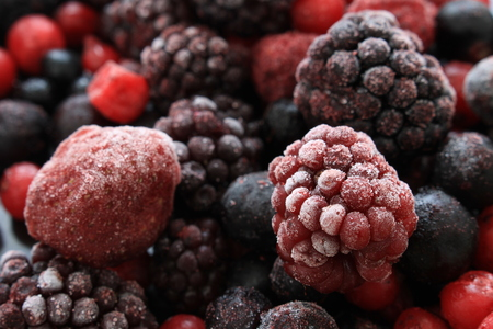fruit and veg: frozen fruit and veg