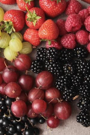 seasonal: seasonal berry fruit
