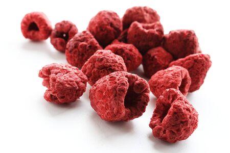 freeze dried: fresh raspberries