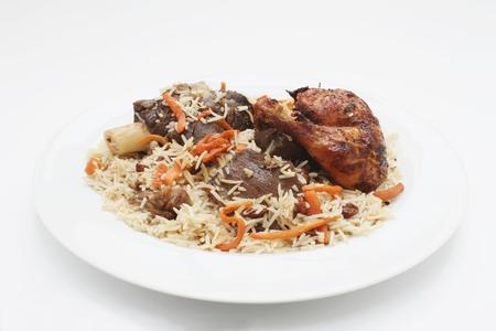 Afgan Lamb Kabuli pulao pilaf